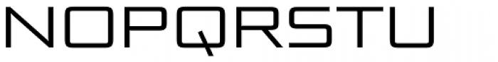 Bunken Tech Sans Pro Wide Book Font UPPERCASE