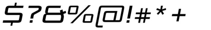 Bunken Tech Sans Pro Wide Med It Font OTHER CHARS