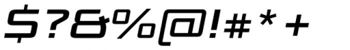 Bunken Tech Sans Pro Wide Se Bd It Font OTHER CHARS