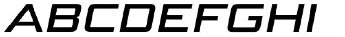 Bunken Tech Sans Pro Wide Se Bd It Font UPPERCASE