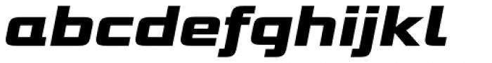 Bunken Tech Sans Pro Wide Ul Bd It Font LOWERCASE