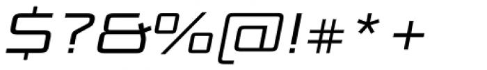 Bunken Tech Sans SC Wide Book It Font OTHER CHARS
