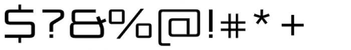Bunken Tech Sans SC Wide Book Font OTHER CHARS