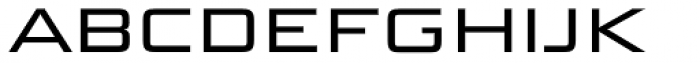 Bunken Tech Sans SC Wide Book Font LOWERCASE