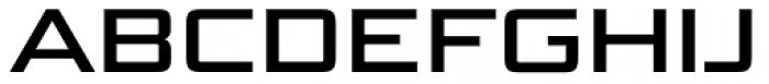 Bunken Tech Sans SC Wide Se Bd Font UPPERCASE