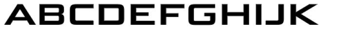 Bunken Tech Sans SC Wide Se Bd Font LOWERCASE
