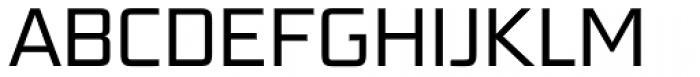 Bunken Tech Sans Std Book Font UPPERCASE