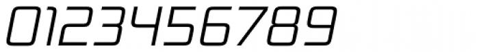 Bunken Tech Sans Std Light Italic Font OTHER CHARS