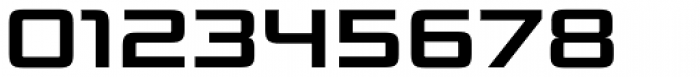 Bunken Tech Sans Std Wide Bold Font OTHER CHARS