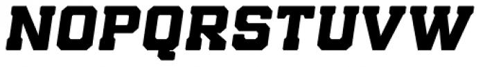 Bunkhouse Italic Font UPPERCASE