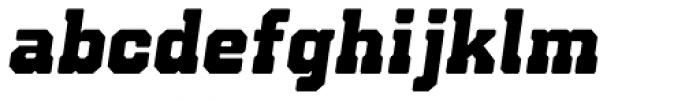 Bunkhouse Italic Font LOWERCASE