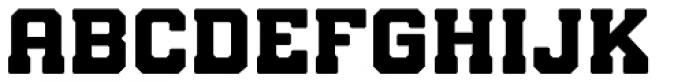 Bunkhouse Font UPPERCASE