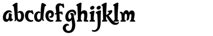 Bunky Font LOWERCASE
