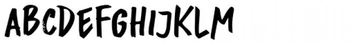 Buntaro Font LOWERCASE
