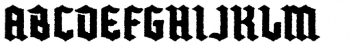 Buntisland Weathered Font UPPERCASE
