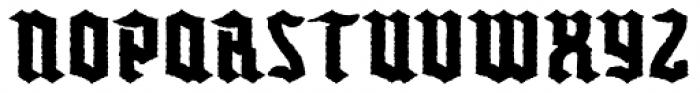 Buntisland Weathered Font LOWERCASE