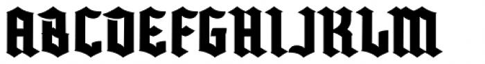 Buntisland Font UPPERCASE