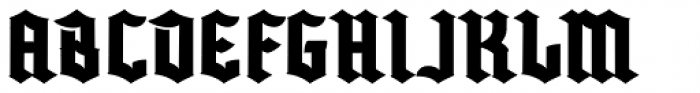 Buntisland Font LOWERCASE