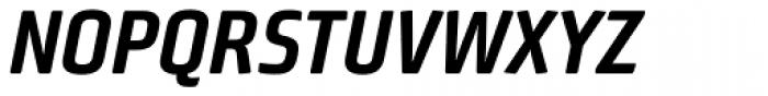 Bunuelo Clean Pro Bold Italic Font UPPERCASE