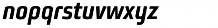 Bunuelo Clean Pro Bold Italic Font LOWERCASE