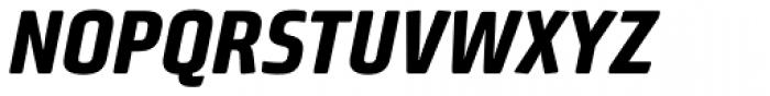 Bunuelo Clean Pro Extra Bold Italic Font UPPERCASE