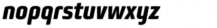 Bunuelo Clean Pro Extra Bold Italic Font LOWERCASE