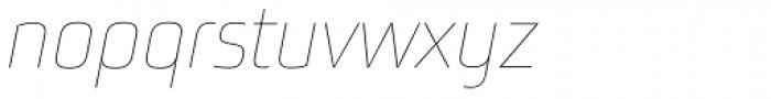 Bunuelo Clean Pro Hair Italic Font LOWERCASE