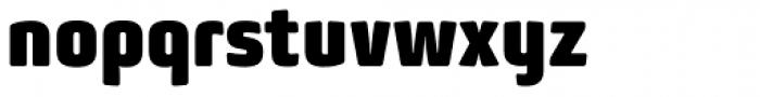 Bunuelo Clean Pro Heavy Font LOWERCASE