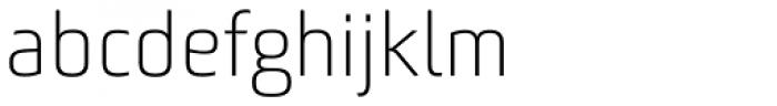Bunuelo Clean Pro Light Font LOWERCASE