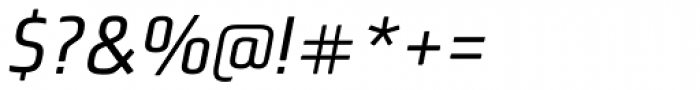 Bunuelo Clean Pro Regular Italic Font OTHER CHARS
