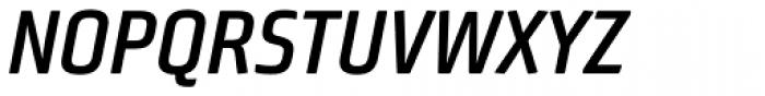 Bunuelo Clean Pro Semi Bold Italic Font UPPERCASE