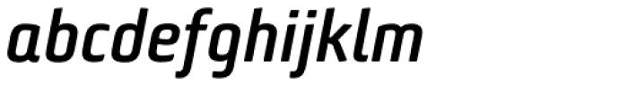 Bunuelo Clean Pro Semi Bold Italic Font LOWERCASE