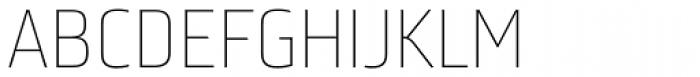 Bunuelo Clean Pro Thin Font UPPERCASE