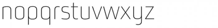 Bunuelo Clean Pro Thin Font LOWERCASE