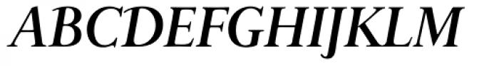 Bunyan Pro Bold Italic Font UPPERCASE