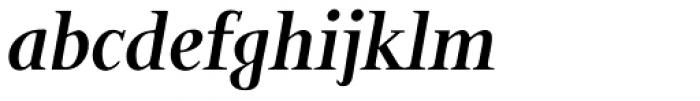 Bunyan Pro Bold Italic Font LOWERCASE