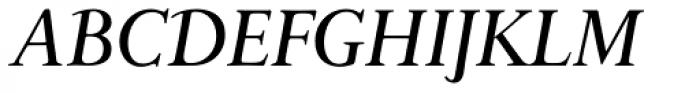 Bunyan Pro Medium Italic Font UPPERCASE