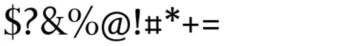 Bunyan Pro Regular Font OTHER CHARS