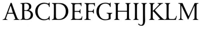 Bunyan Pro Regular Font UPPERCASE