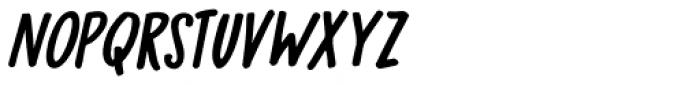 Bupkis Italic Font UPPERCASE