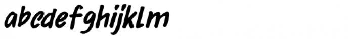 Bupkis Italic Font LOWERCASE