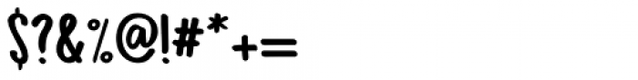 Bupkis Regular Font OTHER CHARS