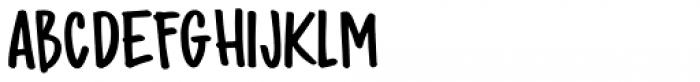 Bupkis Regular Font UPPERCASE