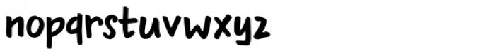 Bupkis Regular Font LOWERCASE