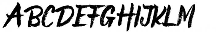 Buree Chalk Regular Font UPPERCASE