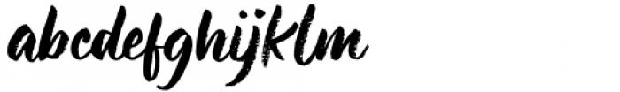 Buree Chalk Regular Font LOWERCASE
