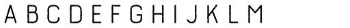 Burford Rustic Line Bold Font UPPERCASE