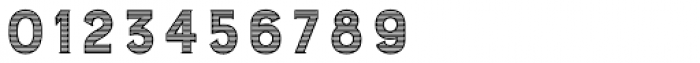 Burford Stripes B Font OTHER CHARS