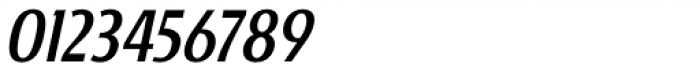 Burgerbun Condensed Oblique Font OTHER CHARS