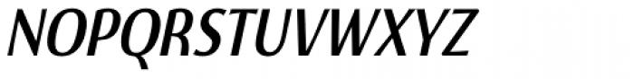 Burgerbun Condensed Oblique Font UPPERCASE